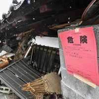 Japan's quake-affected homeowners face tense wait for safety inspections