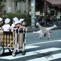 Robotics makes baby steps toward solving Japan's child care shortage