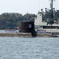 First Japanese sub since WWII enters Sydney Harbor for naval exercise