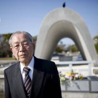 Atomic bomb survivor Hiroshi Harada says U.S. President Barack Obama would be making a very delicate political decision to come to Hiroshima. | REUTERS