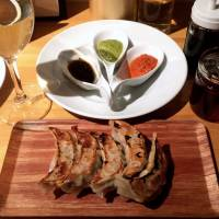 Gyoza Bar Comme a Paris: Pan-fried dumplings with a touch of je ne sais quoi