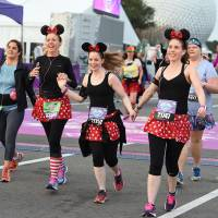 Running at Disney is all about costumes