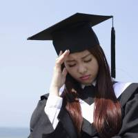 Reality bites: Japan's Labor Standards Bureau received 12,000 inquiries in 2014 from new grads who quit their jobs. | ISTOCK