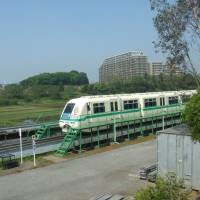 In the loop: The Yukarigaoka monorail train, which links to the Keisei Honsen train line, makes the 'new town' convenient for Tokyo workers. | PHILIP BRASOR