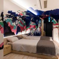 Tokyo hotel gets into bed with local artists