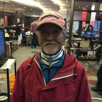 Kazuto Otsuka, Retired, 71 (Japanese): I experienced the Great Hanshin Earthquake in 1995 when I went to Kyoto. This was my second one. In the Hanshin quake, about 5,000 people were killed, so in comparison, the toll this time was small. After the Hanshin quake, there were many fires. I think it's very fortunate there weren't fires this time. Fires are really scary.