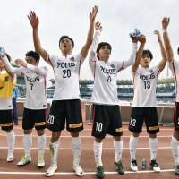 Urawa moves into first place after knocking Kawasaki off J. League perch
