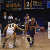Tokyo Apache guard Cohey Aoki was known for his clutch shots and solid all-around play during the now-defunct franchise's memorable existence. | KAZ NAGATSUKA
