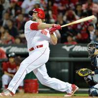 Carp slugger Eldred putting pressure on CL pitchers
