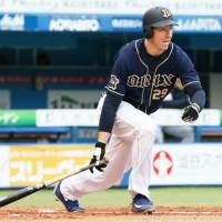Buffaloes outfielder Brian Bogusevic says the competition in NPB is intense. | KYODO