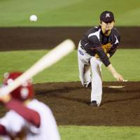 Marines ace Wakui improves to 4-0