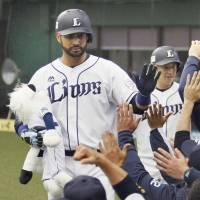 Mejia hits three homers to carry Lions past Eagles
