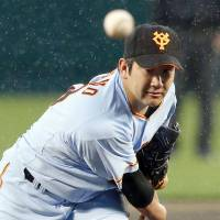 Sugano's scoreless streak halted at 30 innings