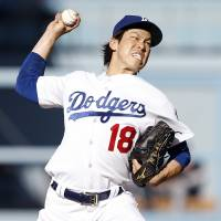 Maeda off to sensational start for Dodgers
