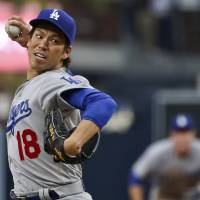 Maeda enjoys eventful debut