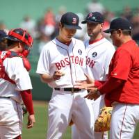 Uehara takes first loss after miserable outing