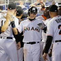 Ichiro stars for Marlins in victory over Nationals