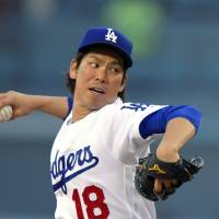 Maeda tastes defeat for first time in MLB