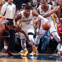 Pacers beat Cavs in LeBron's absence, edge closer to playoffs