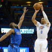 Westbrook silences Cuban as Thunder eliminate Mavericks