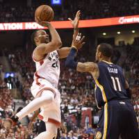 DeRozan delivers for Raptors in victory over Pacers