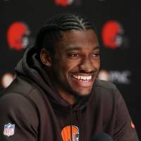 Griffin relishing Browns challenge