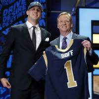 Rams take Cal quarterback Goff with first pick of NFL draft