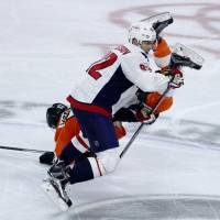 Capitals move within win of sweep