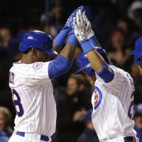 Streaking Cubs spoil Finnegan's no-hit bid