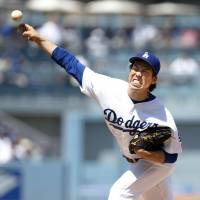 Dodgers bullpen blows Maeda's lead in defeat to D-Backs
