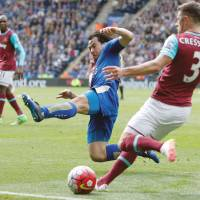 Okazaki hails never-say-die Leicester after West Ham draw