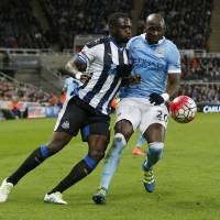 Newcastle claims point from City
