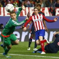 Atletico grabs advantage over Bayern in Champions League semi