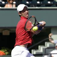 Nishikori ousts Monfils to reach Miami semis