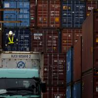 Japan's exports post seventh monthly decline on stronger yen