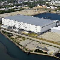 Panasonic Corp.'s LCD panel plant in Himeji, Hyogo Prefecture, is seen in May 2010. | KYODO