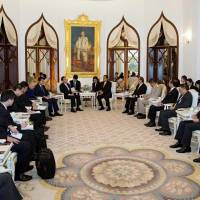 Kishida reaffirms economic focus on Thailand