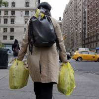 New Yorkers to pay for disposable plastic and paper bags