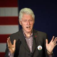 Bill Clinton stumps for Hillary in ailing Puerto Rico, vows to push equal treatment