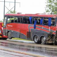 NTSB probing Texas bus rollover crash fatal to eight; carrier had safety issues