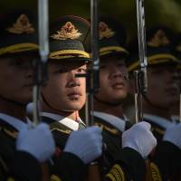 China stages war games days ahead of Taiwan inauguration