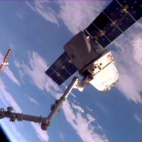 SpaceX Dragon cargo ship heads back to Earth