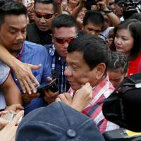 Philippine commission says Duterte's rape joke violated law on women's rights, is told to shut up