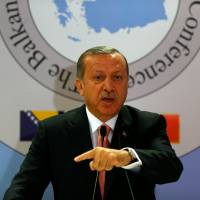 Turkey's Erdogan says West cares more about turtles than Syrians