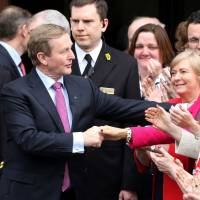 Kenny re-elected as Irish prime minister following 10-week stalemate