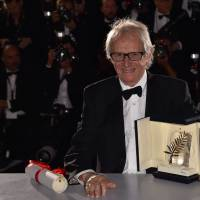 Loach lashes out at 'catastrophe' of EU austerity in accepting Palme d'Or, warns of rise of far-right