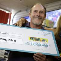 New York man wins $1 million lottery second time