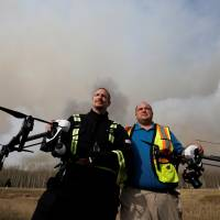 Alberta flies drones to find cause of epic Canadian wildfire