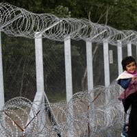 Migrants at Serbia-Hungary border camp increasing, weighing all options to continue on