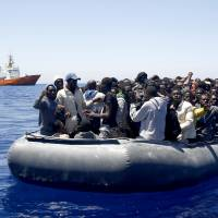Libya-Italy sea route again main migrant conduit north; 2,600 rescued over 24 hours